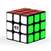 1Pcs Classic Toys 3x3x3 ABS Sticker Block High Quality Speed Magic Cube Colorful Learning Educational Puzzle Cubo Magico