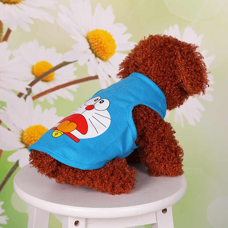 חיות מחמד כלב בגדי חולצה קיץ אפוד ספורט תלבושות יורקשייר צ 'יוואווה גור לחיות מחמד כלב בגדים מגניב קיץ חתול כלב חולצה אפוד 35