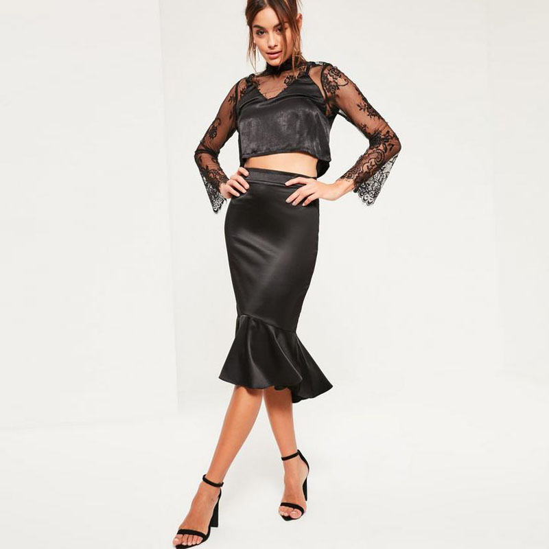 Compare Prices on Satin Pencil Skirt- Online Shopping/Buy Low ...