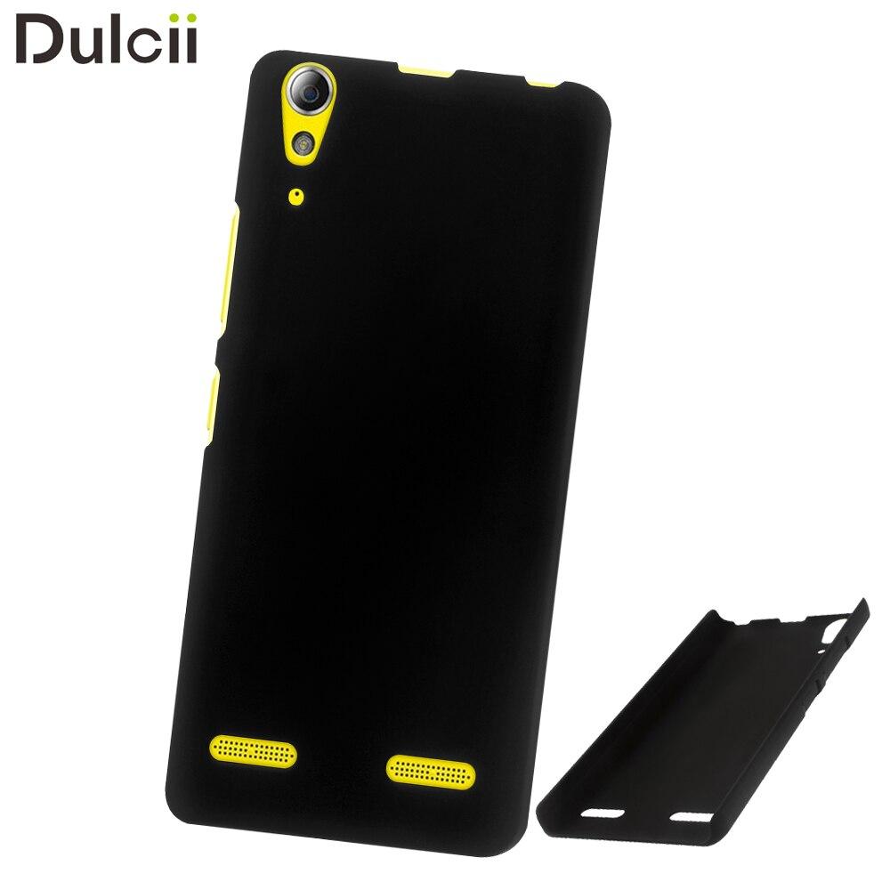 Dulcii For Lenovo A6010 Case Rubberized Hard Pc Celular Case For Lenovo A6000 A6000 Plus A6010