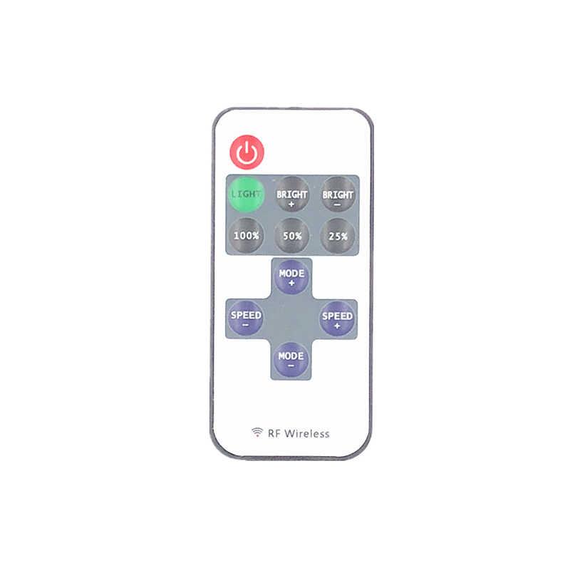 Светодиодные Ленты один Цвет Дистанционное управление диммер DC 12 В 11 ключей Мини Беспроводной rf светодиодный Управление Лер для SMD5050 3528 5630 3014 Светодиодные ленты