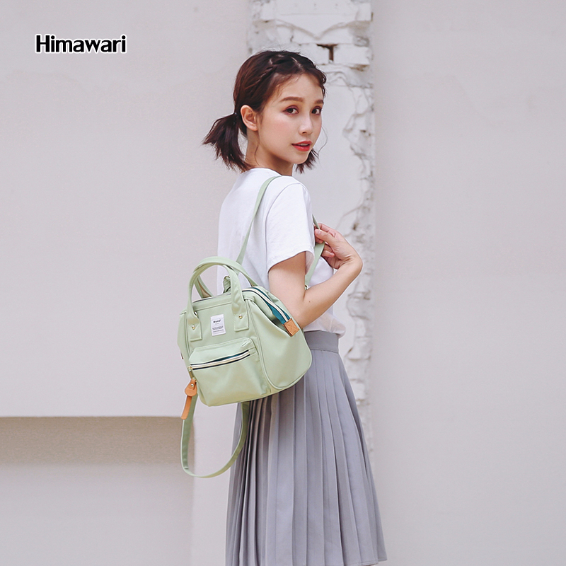Himawari Fashion Mini Backpack Women Waterproof Ladies Hand Bag Classic Shoulder Bag School Bags For Teenages Girl Mochila Mujer
