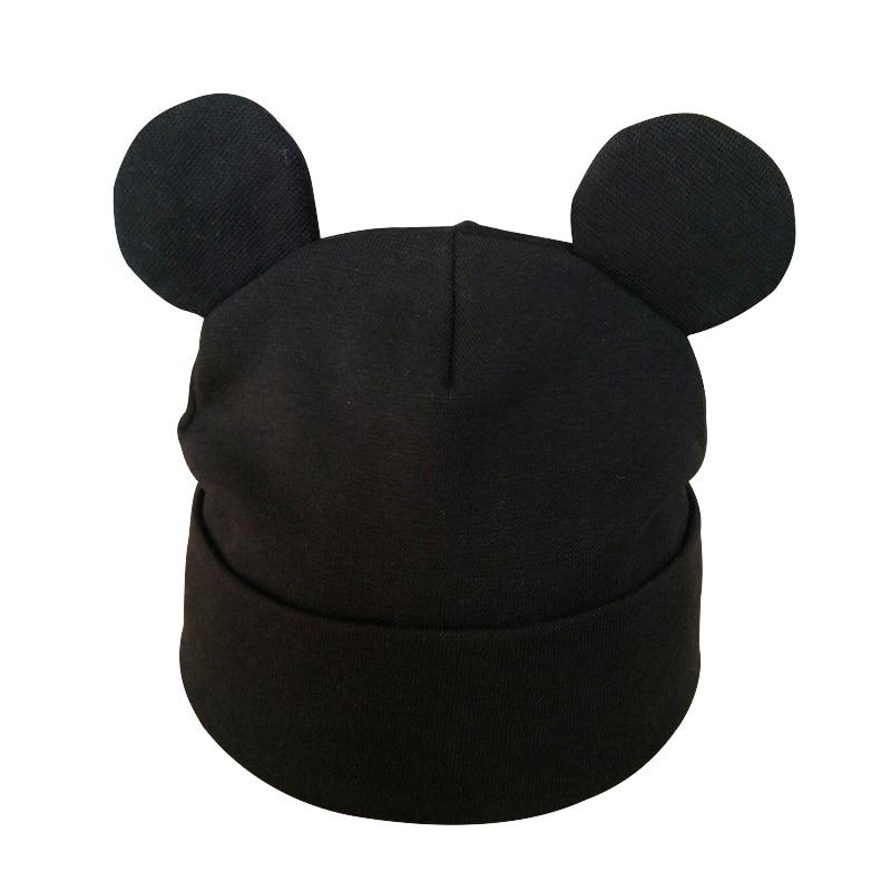 Baby Hat Cotton Ear Hat For Toddler Girls Fashion Cute Cartoon Kids Boys Winter Caps Children's Beanie Hats Caps Bonnet(China)