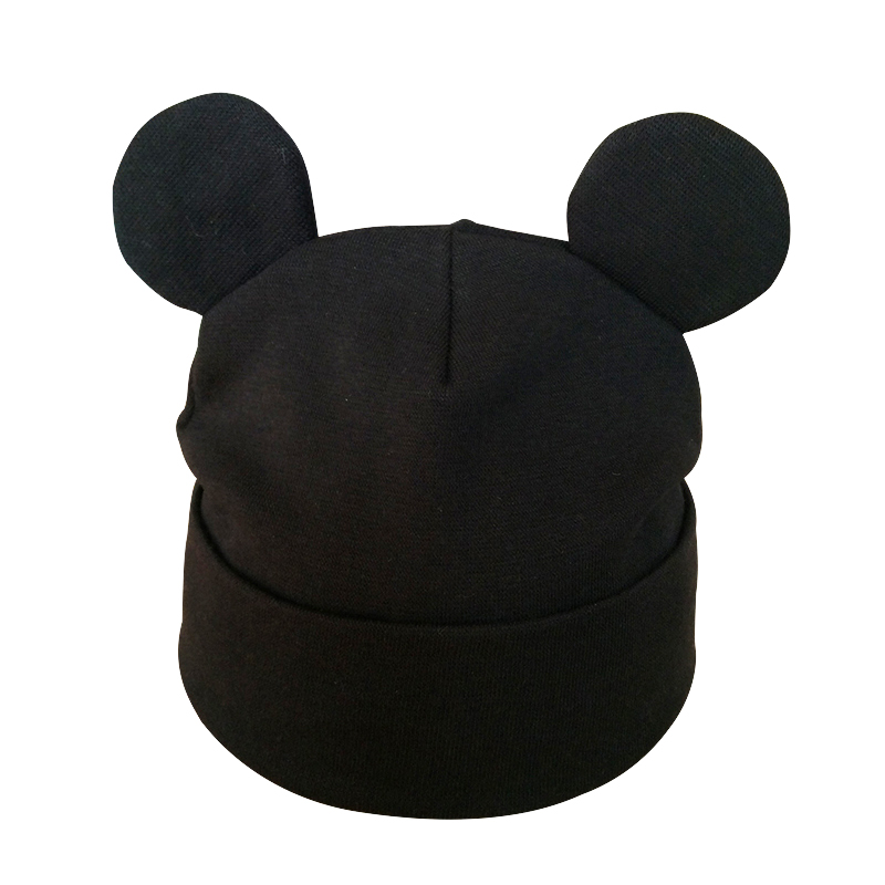 Partisig Brand Baby Hat Bomuld Ør Hat For Girls Fashion Cartoon Boys - Babytøj - Foto 4