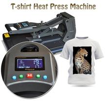40x50cm Tshirt Heat Press Machine 110V/220V Sublimation Printer for TShirt Heat Transfer/Sublimation Machine