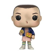 New Style About 10cm Stranger Things ELEVEN WITH EGGOS Hand DEMOGORGON Action Figure Bobble Head Q Edition For Car Decoration(China)