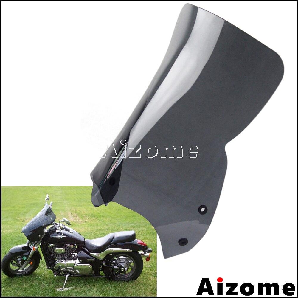 Motorcycle Black Windshield Windscreen For Suzuki 2006 2014 Boulevard M109R Wind Screen Deflectors