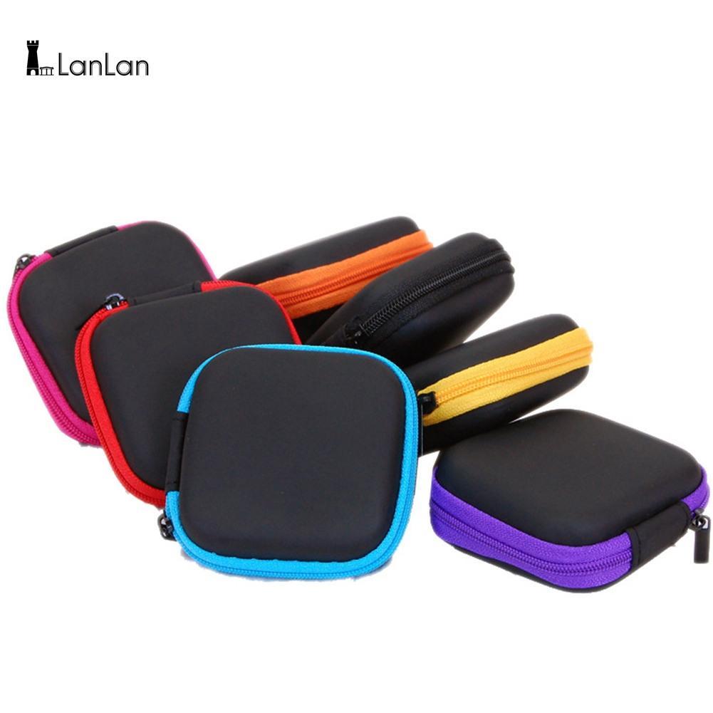 Lanlan модный Портативный наушники сумка USB кабель Зарядное устройство контейнер ключ мешок ювелирных изделий подарок на день рождения Рождес...