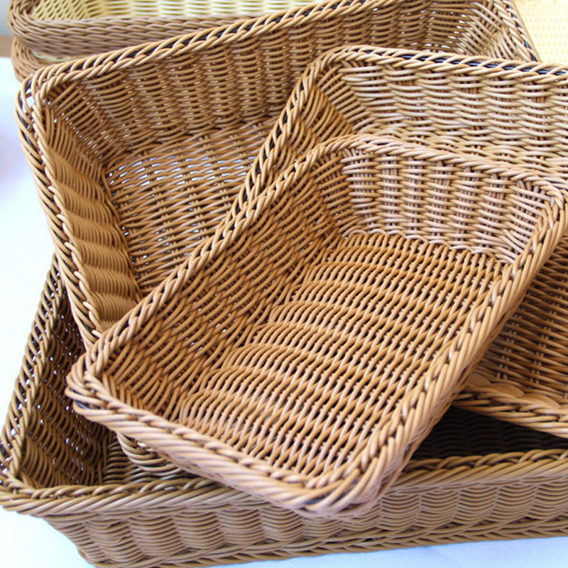 American country the cane makes up a basket of bread baskets of fruit basket dry fruit tray rectangular fruit basket