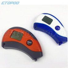 Hot sale Digital health Measuring Tape Accurately Measures 8 Body Part Easy Read orange or blue, ship by random(China)