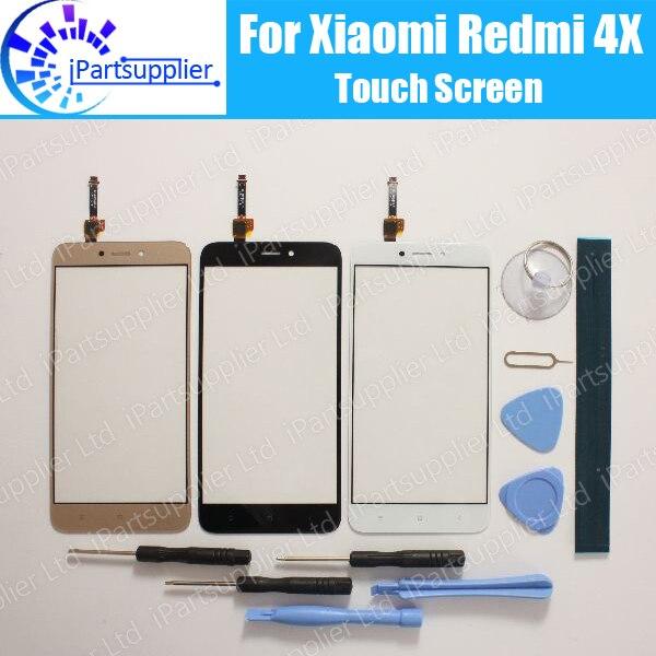 imágenes para Para Xiaomi Redmi 4X Digitalizador Pantalla Táctil 100% de Garantía Nuevo Panel Táctil de Cristal Digitalizador Reemplazo Para Xiaomi Redmi 4X