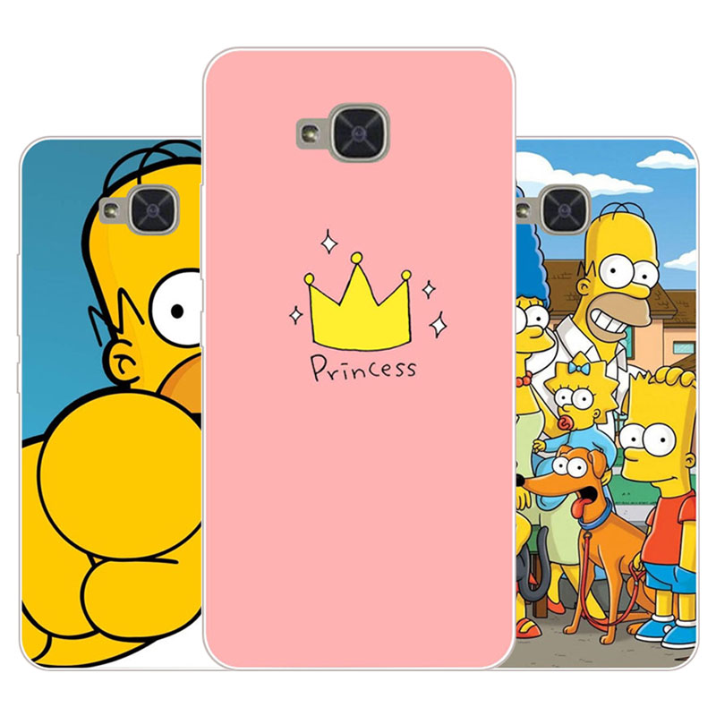For BQ Aquaris U2 lite Case,Silicon Joy crown cartoon Painting Soft TPU Back Cover for BQ Aquaris U2 protect Phone cases