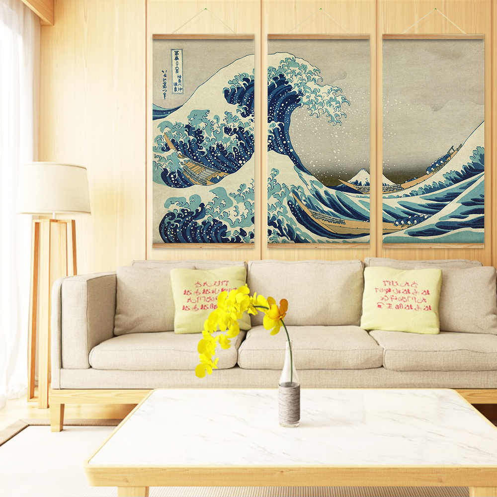 Contemporary Decorative Wall Scrolls Inspiration - The Wall Art ...