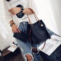 Previous Next Fashion Tassels Single Strap Pure Color Shoulder Bag For Ladies Bags Handbags Women Famous