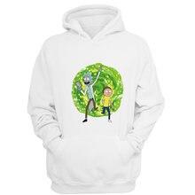 a92b1c6eb39 Rick e Morty Novos homens hoodies 2019 outono inverno estilo G2840 crossfit  homens com capuz de lã camisolas de alta qualidade