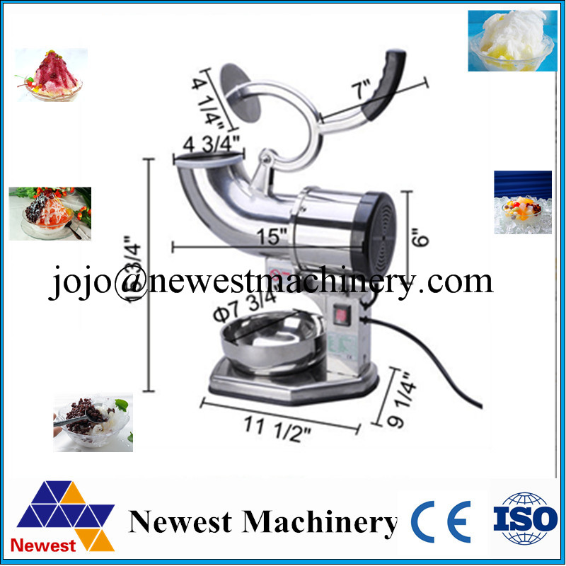 commercial use 110v 220v electric fruit vegetable ice crusher shaver ice crushing snow cone machine maker - Commercial Snow Cone Machine