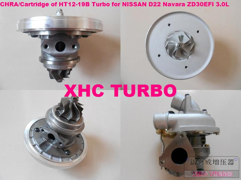 Nouveau Catridge Chra de HT12-19B/D 14411-9S000 turbo turbocompresseur pour NISSAN D22 Navara, Interstar, ZD30EFI 3.0L 136HP