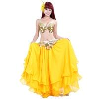 handmade beaded belly dance costume wear Bar+Belt+Dress 3pieces/set ladies bellydance costumes women bollywood dancing wear