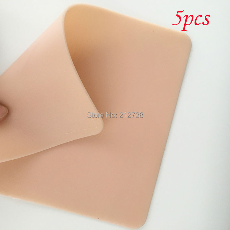 Beauty & Health Free Shipping 5pcs Silicon Ilicone Tattoo 3d Practice Synthetic Skin Face 27 X 15cm Permanent Makeup Practice Skin For Beginners