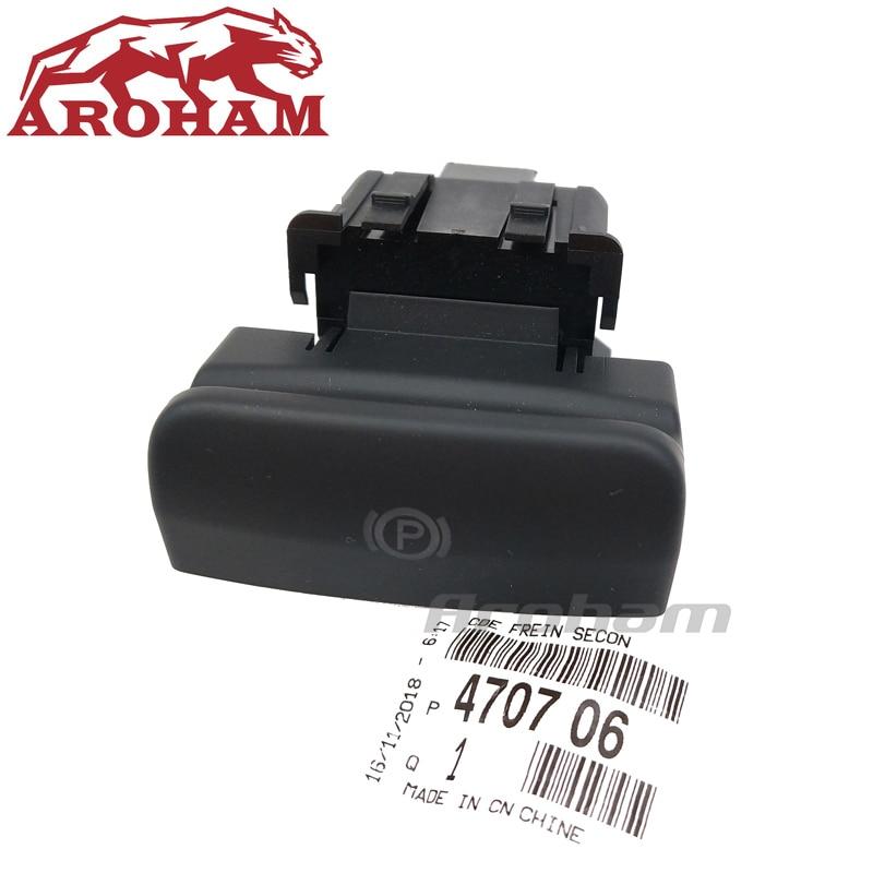 Original NEW Parking Brake Switch Electronic Handbrake Switch 470706 For Peugeot 5008 308 3008 CC SW