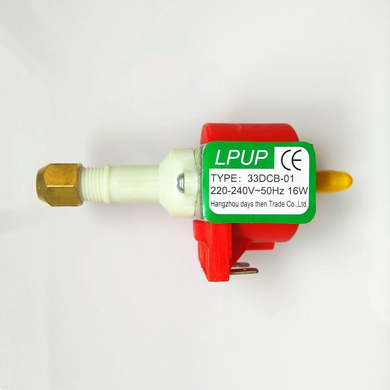Puissance 16 W/pression 0.28-0.38mpa/pompe magnétique auto-amorçante pour machine à fumée basse puissance/fumée de scène/machine à café