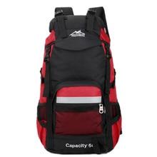 Hot Camping Hiking Backpack Sports Bag Travel Trekk Rucksack Mountain Climb Equipment 50L for Men Women males Teengers