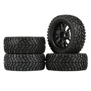 S4Pcs 75mm Rubber Ral...