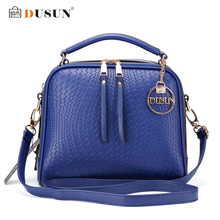 DUSUN Luxury Knitting Pattern Handbag Woman Messenger Fashion Women Famous Design Handbags Feminina Shoulder Bag Casual