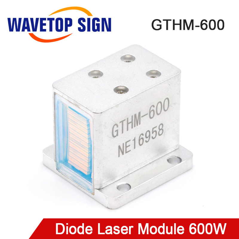 WaveTopSign Diode Laser Modules for Hair Removal GTHM-600 600W Side / Back / Bottom Water Out