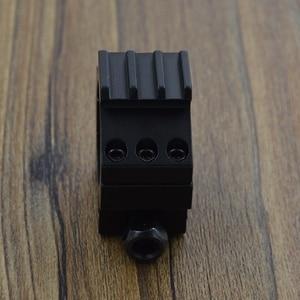 Image 4 - Alonefire md3013 30mm 반지 21mm 레일 위버 picatinny airsoft 소총 총 전술 조명 레이저 시력 범위 사냥 마운트
