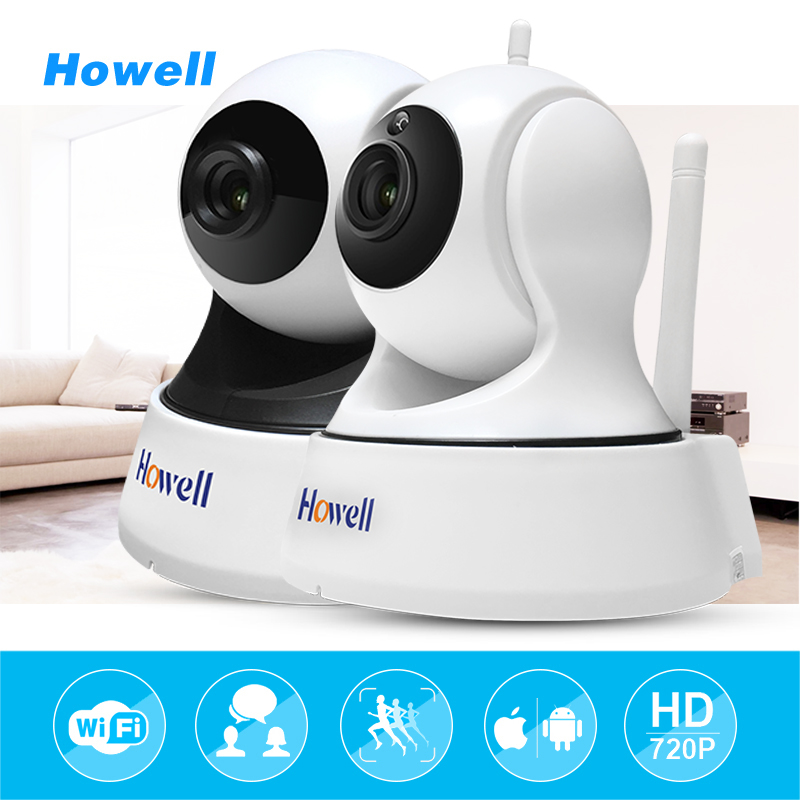 Howell Surveillance Security mini CCTV wireless IP Camera wifi Baby Monitor hd 720P Infrared Night Vision ptz Security Camera