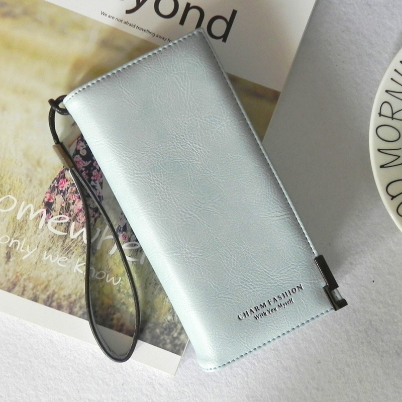 moeda das senhoras zipper Estilo : Long Wallet