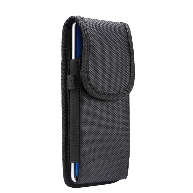 4.7 inch - 6.9 Universal Phone Case Pouch Belt Clip Holster Leather Waist Bag KS0248