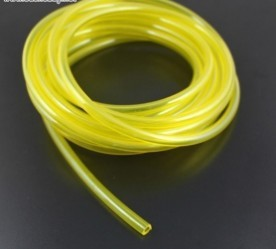 10meters Fuel Line 4.8*2.5 for Gas <font><b>Engine</b></font> D4.8 * D2.5mm -Yellow Color for <font><b>RC</b></font> Gasoline Airplane