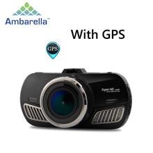 A12 mini DVR Cámara del coche de Ambarella Full HD 2560*1440 P Grabador de vídeo GPS Logger dashcam Caja Negro con función GPS