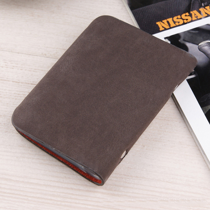 Fashion Business Credit Card Holder Bags Leather Strap Buckle Bank ...