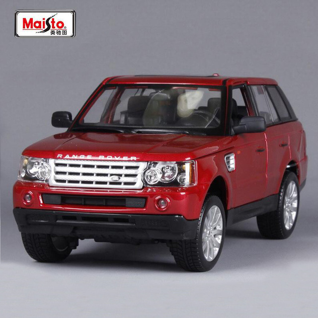Maisto 1 18 Range Rover Sport Suv Car Diecast Model Car Toy For Kids