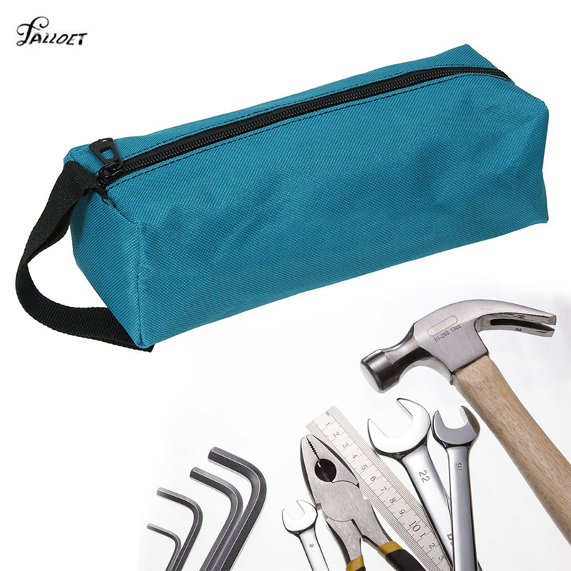 Multifunction Waterproof Canvas Tool Organizer Instrument Case Bag For Small Tool Screws Nails Drill Bit 3 Colors