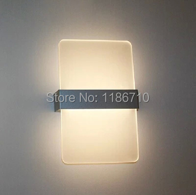 Здесь продается  Modern wall lamp is contracted fashion creative square LED wall lamp contains LED bulb is free shipping  Свет и освещение