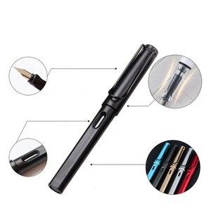 Image 5 - Multi function Portable Pen Hook Line Pen Brush Three Pens Head Can Add Ink Gel Pen for School Students