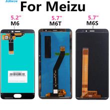FOR Meizu M6 LCD Display Touch Screen M711H M711M M711Q M6S LCD M712H M712Q For 6T Meilan M6T LCD M811Q Screen Replacement цена и фото