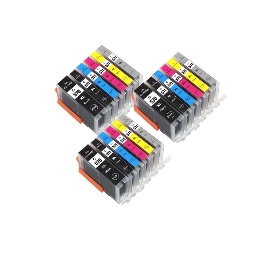 6 color PGI 570 CLI 571 PGI-570BK compatible ink cartridge for canon PIXMA MG7750 MG7751 MG7752 MG7753 TS8050 TS8051 printer6 color PGI 570 CLI 571 PGI-570BK compatible ink cartridge for canon PIXMA MG7750 MG7751 MG7752 MG7753 TS8050 TS8051 printer