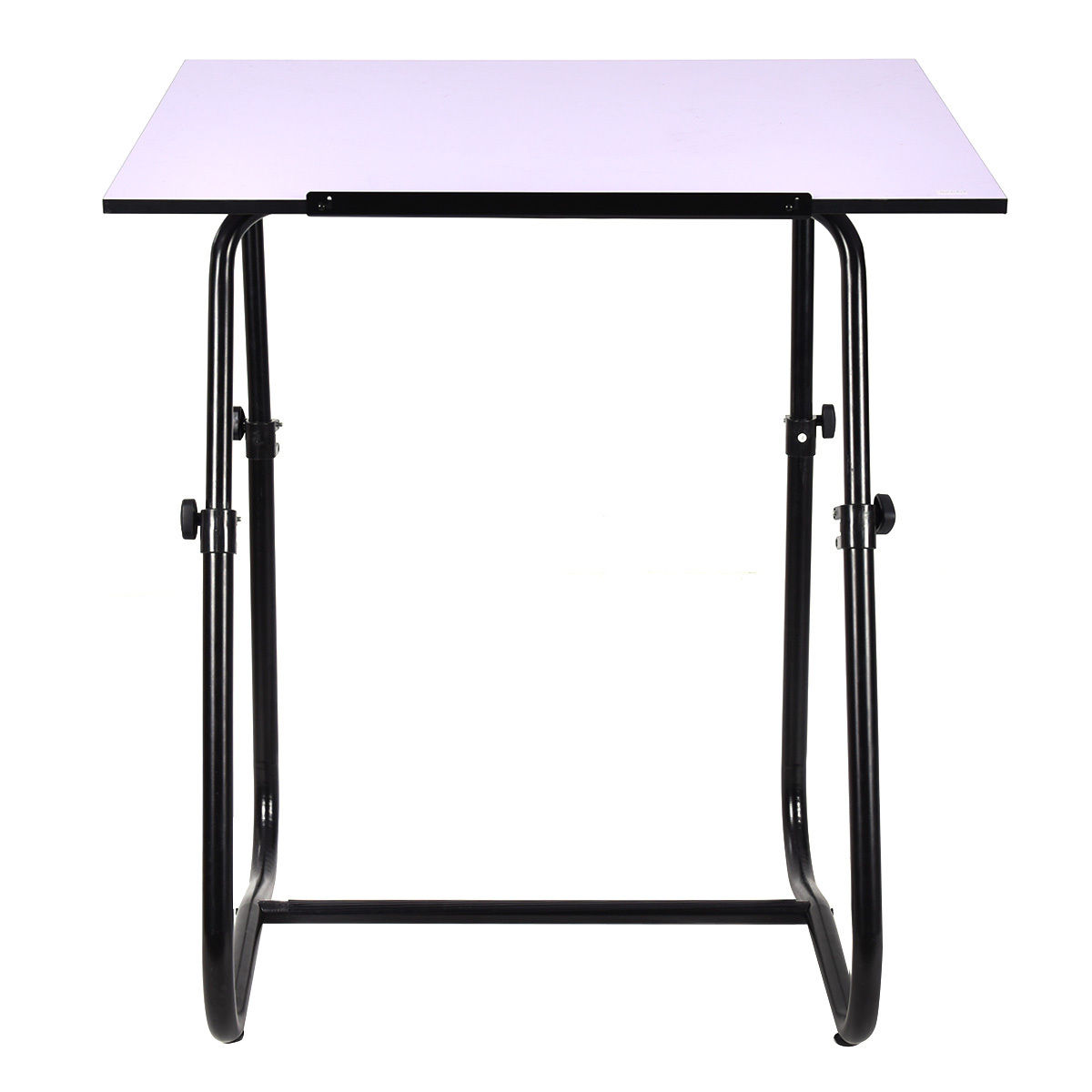 Giantex Drawing Desk Portable Drafting Table Adjustable Art Craft  Workstation Hobby White Modern Study Furniture HW52824 In Console Tables  From Furniture On ...