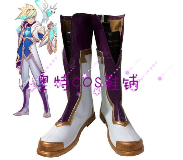 LOL Cospaly Ezreal Boots Star Guardian Cosplay Shoes