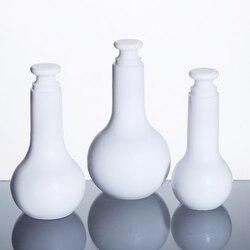 1pc kolba miarowa  czysta butelka  chemia Labware 25ml 50ml 100ml darmowa wysyłka