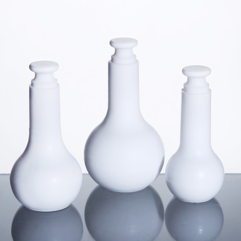 1pcs PTFE Volumetric Flask,Pure Teflon Bottle,Chemistry Labware 25ml 50ml 100ml free shipping цена