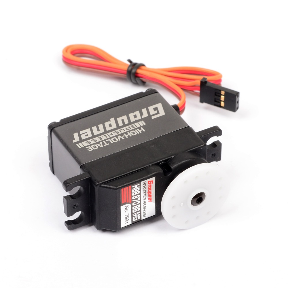 Graupner HBS 870 BBMG Torque 20mm HV BL Digital Servo RC servo Waterproof Aluminum shell for RC car truck Free Shipping