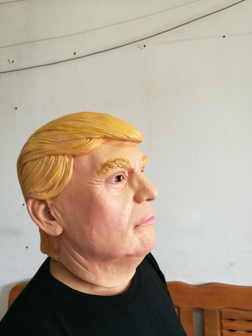 Aliexpress.com : Buy Lifelike Donald Trump Mask Billionaire ...