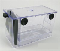 UP 2 in 1 In cylinder Type Aquarium Power Type Breeding Box Hatch Box Isolation Box Power Filtration System Cultivate Bacteria