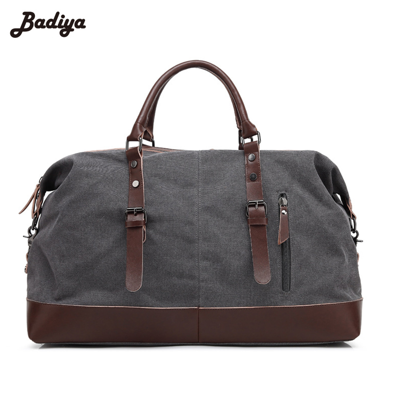 Travel Men's Large Capacity Handbag Canvas Shoulder Casual Bag Male Trip Daily Use Brief Design Crossbody Messenger Bags купить